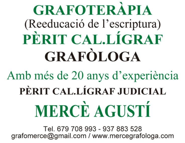 Mercè Agustí Grafóloga