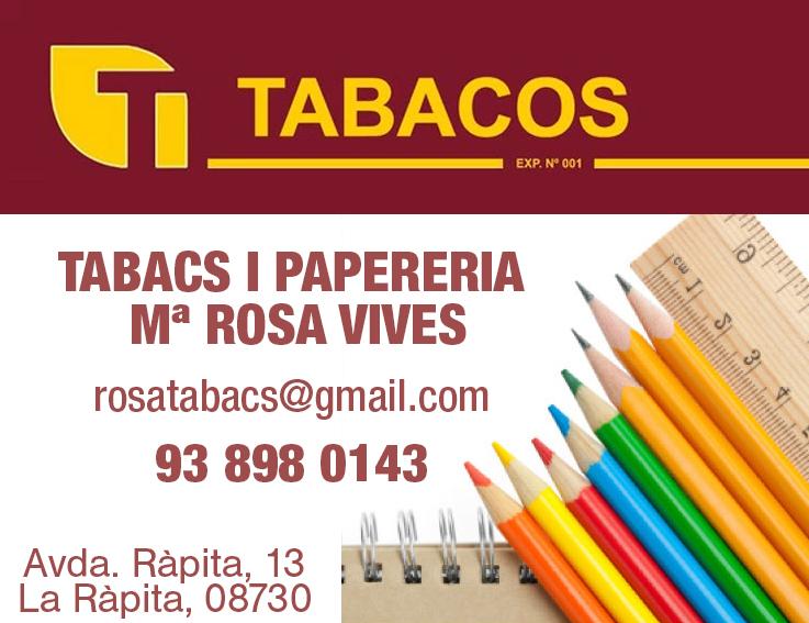 Tabacs i Papereria Maria Rosa Vives