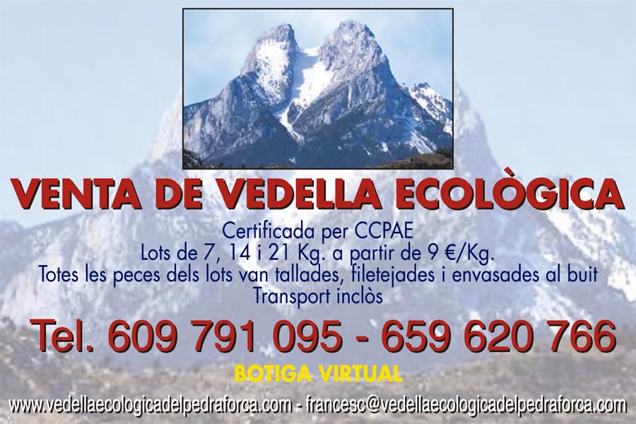 Vedella Ecologica Pedraforca